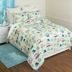 Retro Glamping Lifestyle Bed Quilt Set with Matching Pillow Shams image