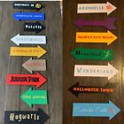 Handmade Fictional Places Wooden Signs!
