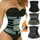Kyпить Women Waist Trainer Neoprene Belt Sweat Body Shaper Belt Belly Control Girdle US на еВаy.соm