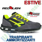Scarpe Antinfortunistiche da Lavoro Scarpa U-POWER Red Lion Uomo Donna YELLOW S1