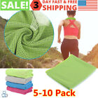 5-10x Ice Cold Instant Cooling Towel Running Jogging Gym Chilly Pad Sports Yoga image