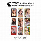 TWICE 9th Mini Album More And More Official Photocard Nayeon K-POP KPOP