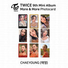 TWICE 9th Mini Album More And More Official Photocard Chaeyoung K-POP KPOP