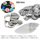 300 Sets SPTE Metal Button Badge Supplies Crafting Tool for Button Maker Machine