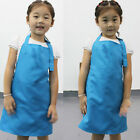 Kids Children Aprons Without Hat Polyester Art Smock Artist Painting Aprons USA