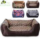 ULTRASOUND PET Dog Kennel Soft Dog Beds Puppy Cat Bed Pet House For Small Medium