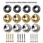 4Pcs Electric Guitar Bass Neck Joint Ferrule Bushing with Matching Screws Parts
