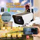 New WiFi Solar IP Camera Security Outdoor 1080P Wireless Night Vision Waterproof