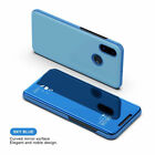 For Xiaomi Redmi S2 5 Plus 6A Note 5 Pro Clear View Mirror Stand Flip Case Cover