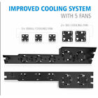 External Cooler Fans Turbo Cooling Fan Stand for PS4 Gaming Console Host