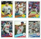 Внешний вид - 1985 Topps Baseball Complete Your Set 2020 Topps Series 2 You U Pick Choice