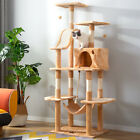 Cat Kitten Tree Floor to Ceiling High Scratching Post Tower Activity Centre170cm