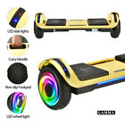 "6.5"" Electric Hoverboard Bluetooth Speaker LED Self Balancing Scooter UL NO Bag"