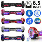 6.5' Electric Hoverboard Bluetooth Speaker LED Self Balancing Scooter UL NO Bag