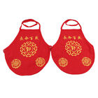 Chinese Style Cotton Belly Pockets Apron Kids Underwear Baby Feeding Cloth Apron