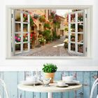 Removable Self-adhesive Fake Window Landscape Wall Sticker Decals Art Home Decor