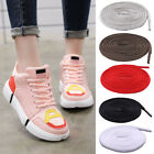 Flat Oval Shoelace Running Athletic Half Round Gym Sports Sneakers Shoe Lace