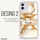 PERSONALISED PHONE CASE INITIALS NAME COVER FOR APPLE IPHONE 11 X 6 7 8 Plus