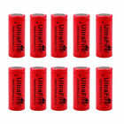 26650 Battery 6800mAh 3.7V Flat Top Li-ion Rechargeable Batteries For Torch Lot