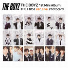 THE BOYZ 1st mini album The First Official Photocard Live Version KPOP K-POP