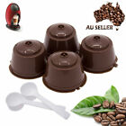 4 Refillable/Reusable Coffee Capsule Pods Cups for Nescafe Dolce Gusto Machine*p