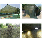 Camo Netting Camouflage Nets Blue Garden Shade Concealment Mesh Hiding Awnin wi