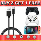 Long USB Charging Charger Cable Lead For PS4 XBOX ONE Controller Nintendo Switch