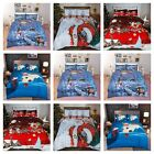 Christmas Xmas Duvet Cover Santa UK Hot Bedding Set Pillow Cases All Sizes New