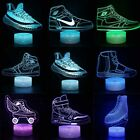 Sneaker Theme 3D Visual Night Light 7 Color LED Desk Table Lamp Creative Gift