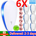 6/12/24PCS Ultrasonic Pest Repeller Control Electronic Repellent Mice Rat Reject