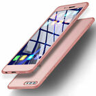 For Huawei Honor 9 8 10 Lite 360° Full Protect Hybrid Case Tempered Glass Cover