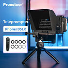 Teleprompter Portable Inscriber Mobile Artifact Video With Remote Control