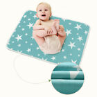 INFANT BABY DIAPER NAPPY URINE MAT KID WATERPROOF BEDDING CHANGING COVER PAD 2E