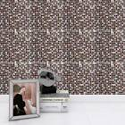 10pcs Diy Mosaic 3d Self Adhesive Wall Tile Stickers Bathroom Kitchen Home Decor
