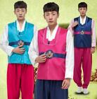 Korean Mens Slim Fit Traditional Ethnic Clothing Dance Gown Costumes Hanbok New