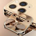 2X For iPhone 11 Pro Max Back Camera Metal Lens Screen Protector Case Ring Cover