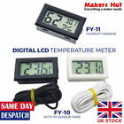 Digital Electronic Thermometer with Temperature Probe - Fish Pond - Baby Room