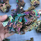 Rare Natural Rainbow Titanium Bismuth Specimens Crystal Mineral Rock Gemstone US