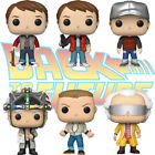Official Back to the Future Marty McFly Vest & Doc 2015 Funko Pop Vinyl Figures