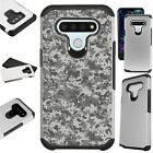 FUSION Case for LG Hybrid Phone Cover DIGITAL GRAY CAMOUFLAGE