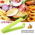 1/5/10xfood Bag Clips Reusable Tie Plastic Storage Sealing Fridge Freezer Random