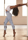 NEW Free People Movement Cropped Oasis High Rise Leggings Blue Sz XS/S-M/L 128