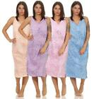 Ladies Nightgown Sleepshirt Nightwear Without Sleeves Summer Size M L XL 2XL