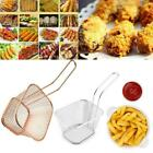 Small Chips Fries Serving Basket Stainless Steel Food French Fryers Potato Wedge günstig