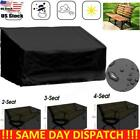 Outdoor Waterproof Chair Cover High Back Patio Garden Furniture Storage Lid Tool