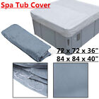 Hot Tub Spa Cover Cap Guard Waterproof Dust Protector With Drawing String 2 Size