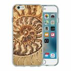 Silicone Phone Case Back Cover Precious Stones Fossil Shell - S1357