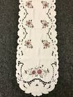 Oval Polyester Embroidered Lace Placemat Table Runner Scarf party Banquet Decor
