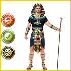 EGYPTIAN KING PHARAOH Halloween Costume Deluxe Ancient Classic Cosplay Men Adult