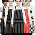Womens Apron Kitchen Durable Pinafore Household Cleaning Workwear With Pockets
